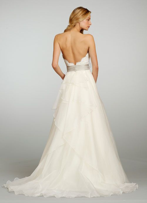 Bridal Gowns, Wedding Dresses by @Jim Hjelm - Style jh8308