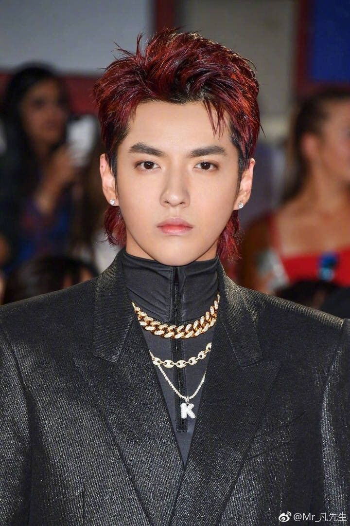 The Mullet Tho Kris Wu Mullet Haircut Wu Yi Fan