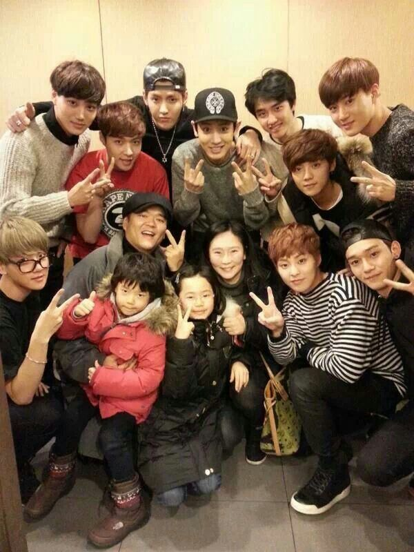Exo with kids