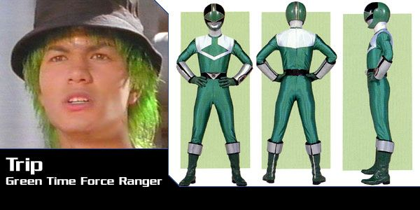 Trip (Green Time Force Ranger) - Power Rangers Time Force | Power Rangers Central