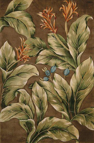 WovenGround Rugs | Modern Rugs | Tropics Rugs | Brown