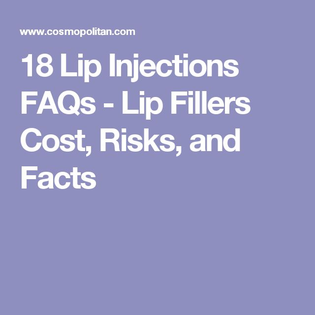 18 Lip Injections FAQs - Lip Fillers Cost, Risks, and Facts