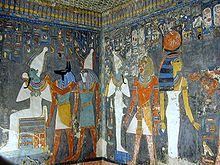 KV57: the Tomb of Horemheb, last ruler of Dynasty 18.