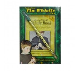 Irish Whistle in D, with Book