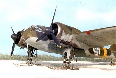 Bristol Blenheim I Finnish Markings 1941-4