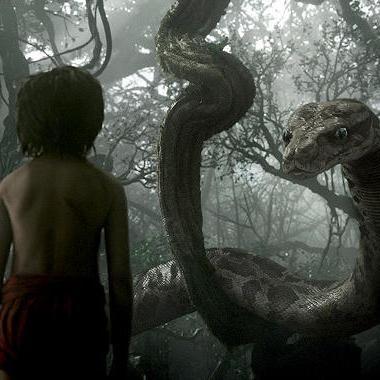 Movies: The Jungle Book: Scarlett Johansson's Kaa ensnares Mowgli in IMAX featurette