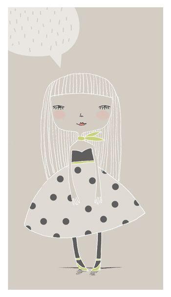 Girl with neckerchief