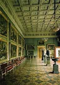 El museo Hermitage en San Petersburgo, Rusia