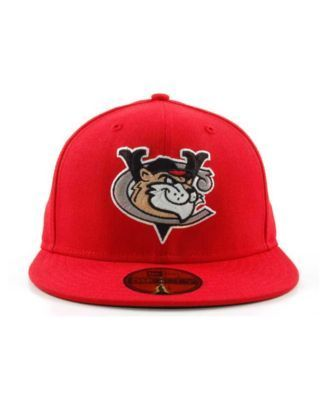 New Era Tri-City ValleyCats MiLB 59FIFTY Cap - Red 7 1/4