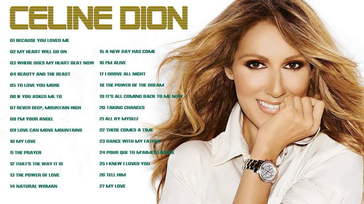Celion Dion: 30 Greatest Hits | Best Songs Of Celion Dion