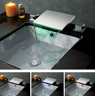 Waterfall Faucets - modern - showers - new york - Faucetsuperdeal.com