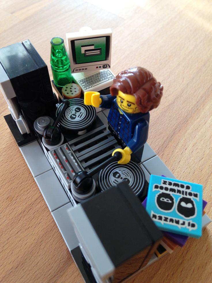 Lego DJ | Custom LEGO Minifigures