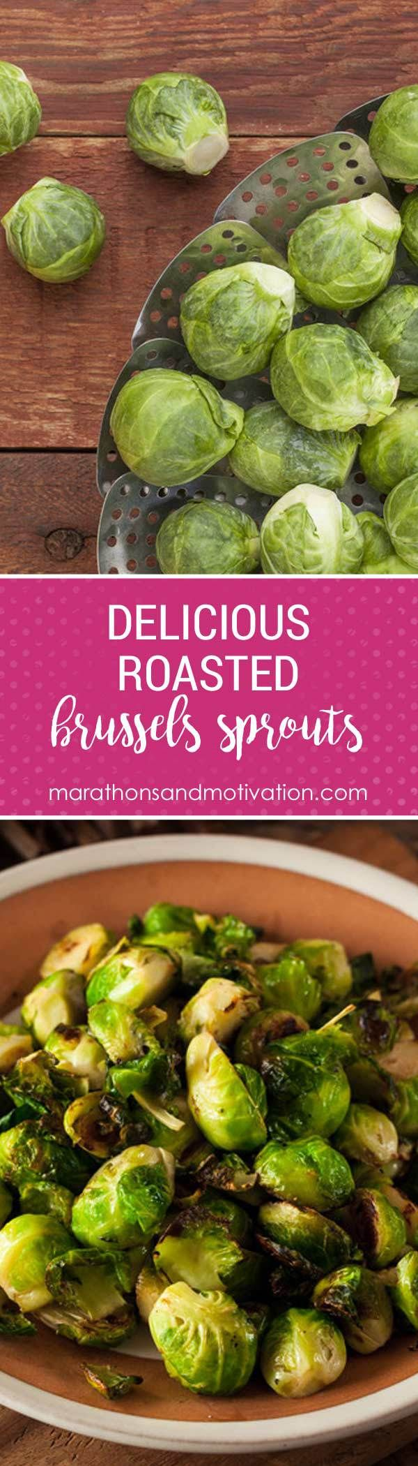 Roasted Brussels Sprouts made with Coconut Oil, Butter, and Lemon Juice are a quick and easy vegetable side dish that the entire family loves!