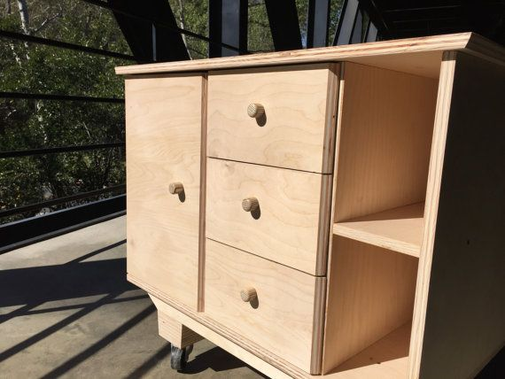 Plywood cabinet by HomeFurnitureDesigns on Etsy