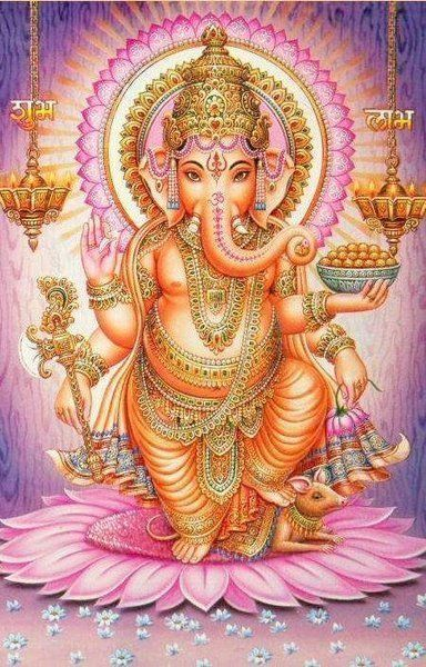 Ganesh, remover of obstacles... AND, my homie. Someday I'll have him tattooed on my shoulder!
