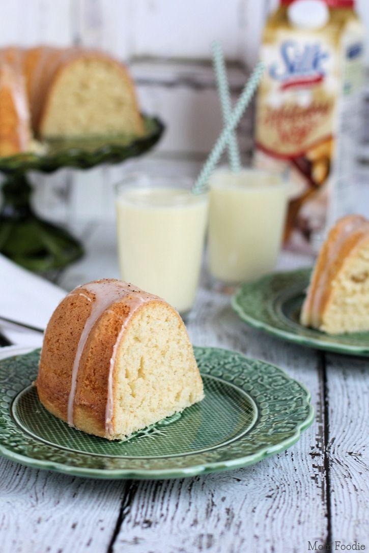 Eggnog Bundt Cake from @MomFoodie