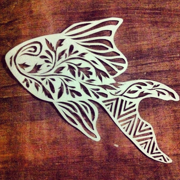 #fish #papercutting #animal art
