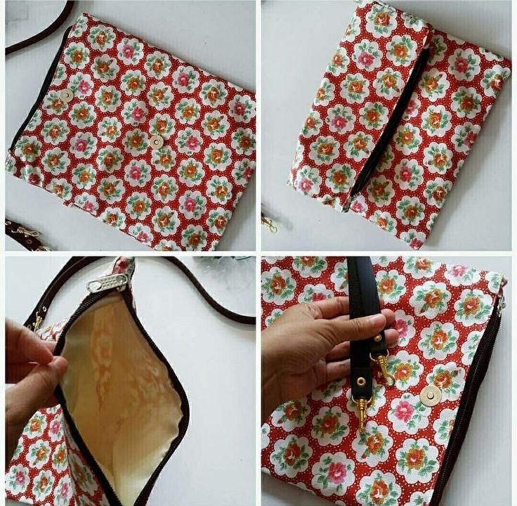 Sling bag bahan kain kanvas dan ada tali panjangnya juga  Order chat me  BBM: 59E19598 LINE: @xzi4448v