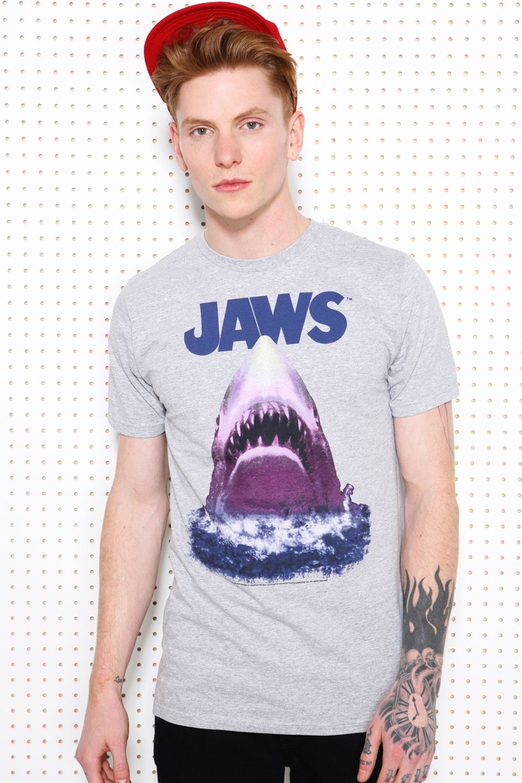A/C Jaws Tee at Urban Outfitters #movie #t-shirt   Men's ...