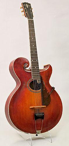 NMM 10051.  Guitar by Gibson Mandolin-Guitar Manufacturing Co., Kalamazoo, Michigan, 1915
