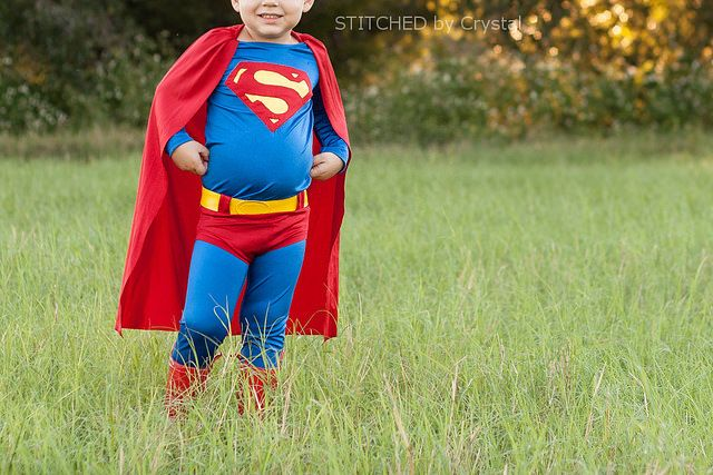 STITCHED by Crystal: Tutorial - Superman Costume