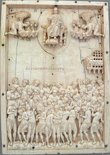 Ivory relief - 40 Martyrs from Sebaste Berlin Bode Museum
