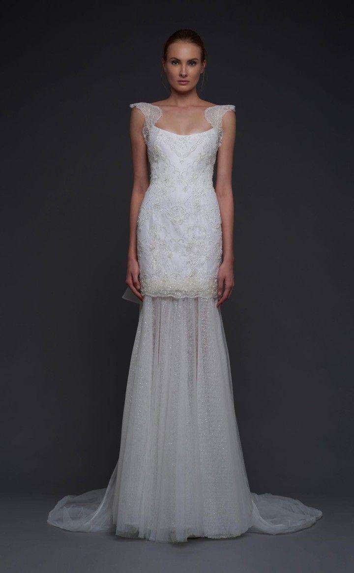 Sheath wedding dress stunning victoria kyriakides wedding dresses