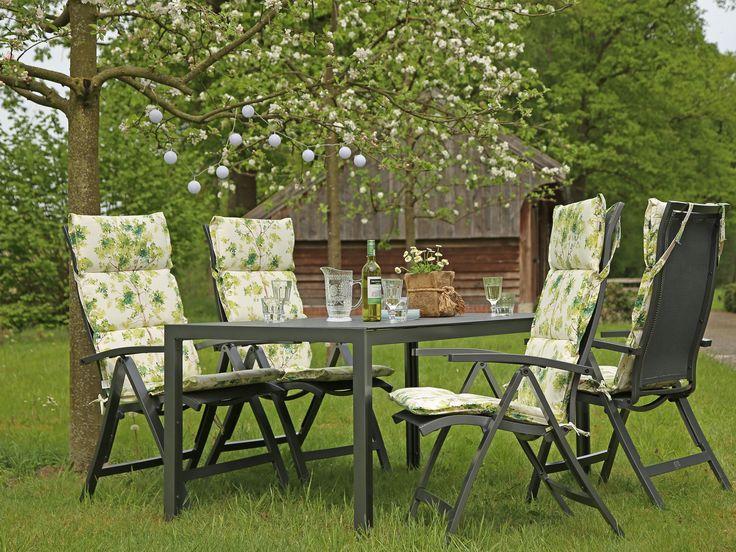 Die besten 25+ Gartenmöbel aus Aluminium Ideen auf Pinterest - gartenmobel set alu 5 teilig