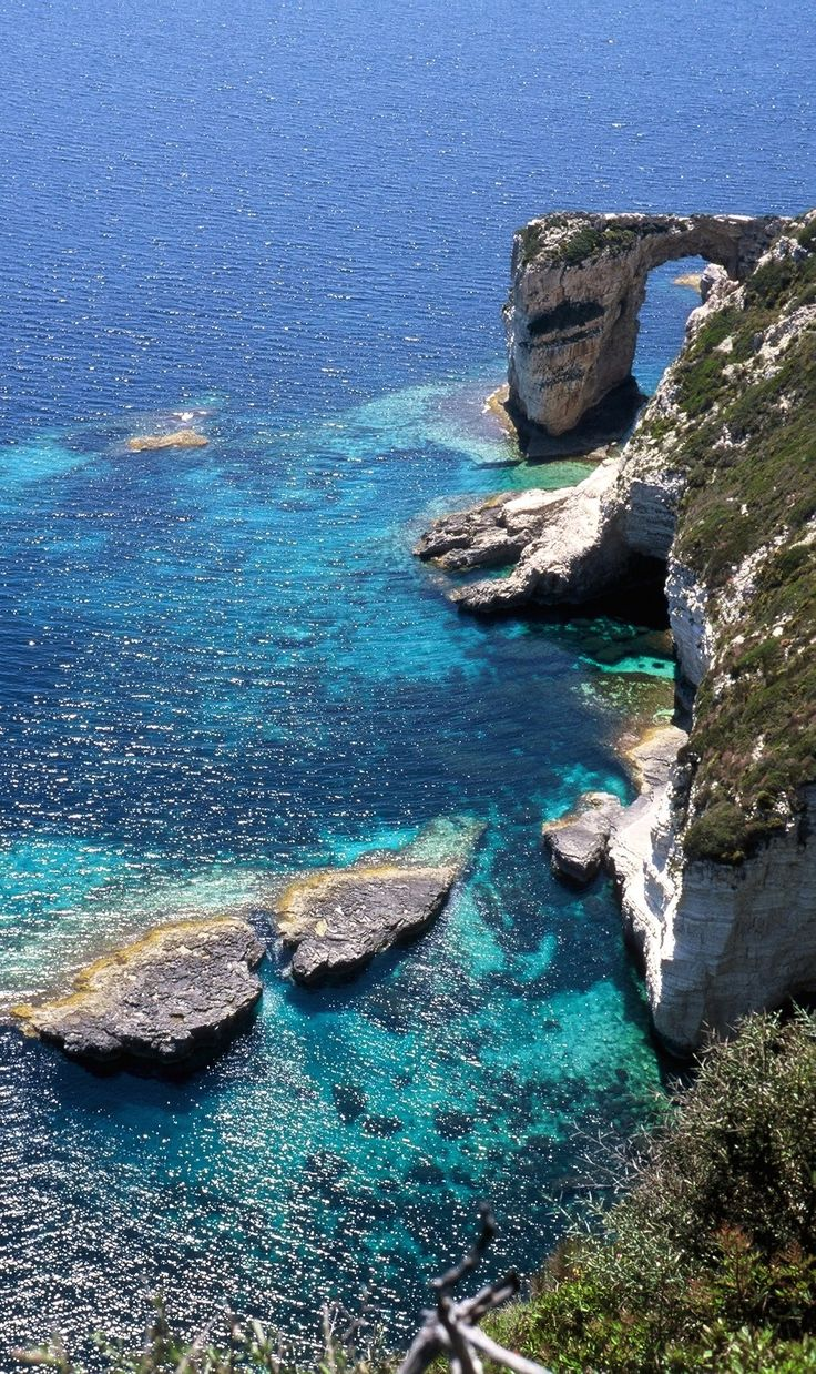 Kamara, Paxos island, Greece.  -  Selected by www.oiamansion.com in Santorini.
