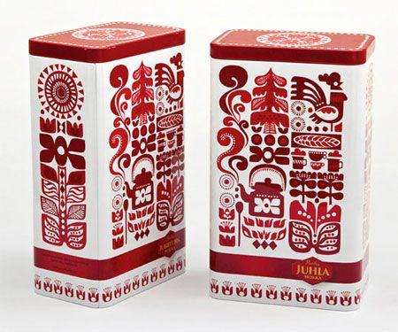 retro tea design