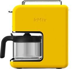 Cafetière filtre Kenwood Kmix CM030YW Jaune Lemon Tonic 6 tasses + offre cadeaux