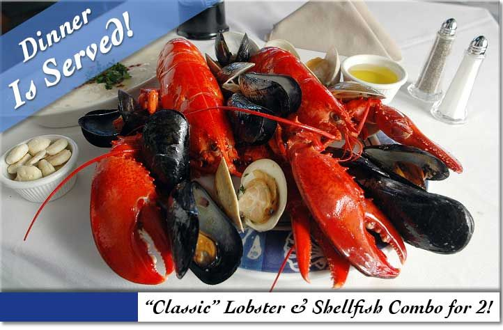 Fresh Live Maine Lobsters And Shellfish Overnight To Your Door!
