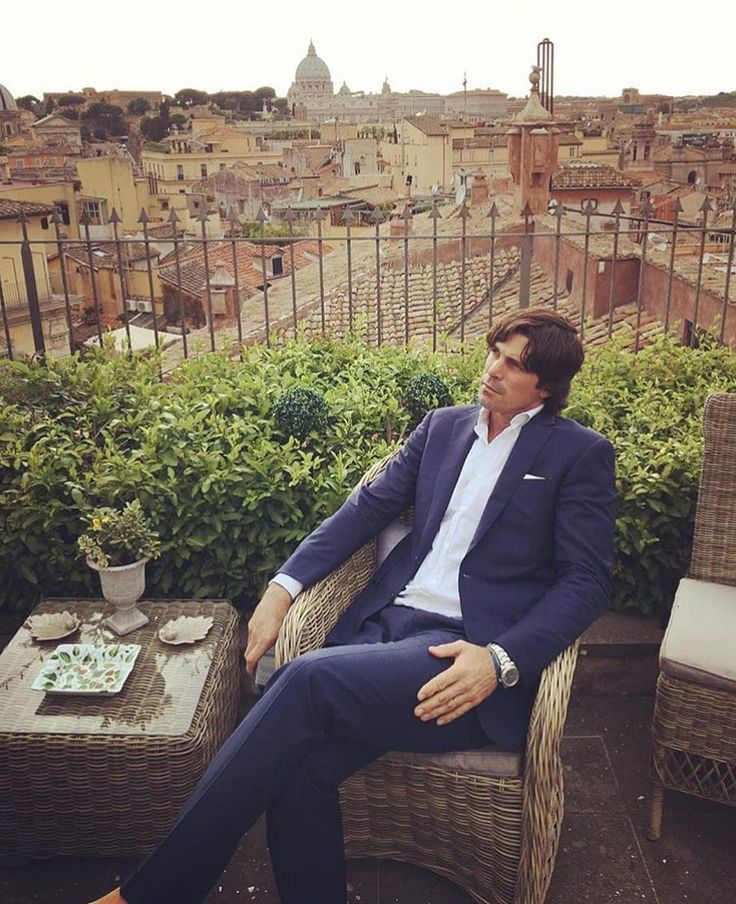 stylehatch-tweets:    Joining Nacho Figueras at this terrace?  Thanks to his wife @delfinablaquier for this pic!  #stregisrome #nachoinrome  #rome #roma #italia #italy #italy_vacations #terrace #view #myview #neverstopexploring #walks #spgtv #nachofigueras #poloplayer #polopony #poloralphlauren #liveauthentic #stregisconnoisseur #stregishotels #spglife #livefolk #lifestyle #menfashion #polostar #polo #poloponies by stregisrome http://ift.tt/1TUMXZt
