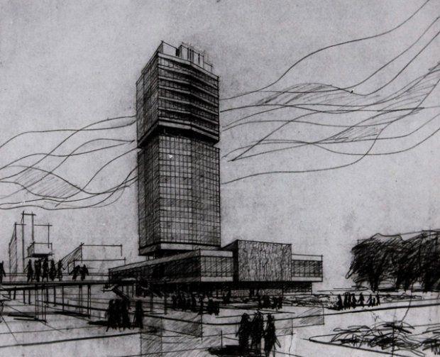 Projekt realizacyjny na lata 1972-75. Autorzy: Krzysztof Leśnodorski i Zdzisław Arct