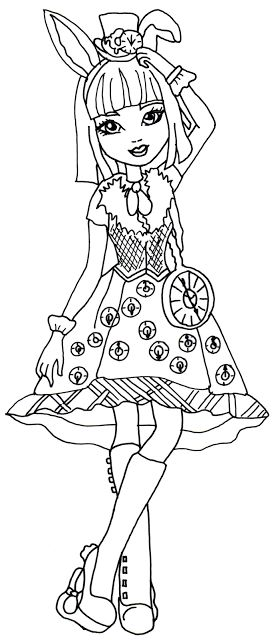 54 Best Images About Ever After High Coloring Pages On Pinterest