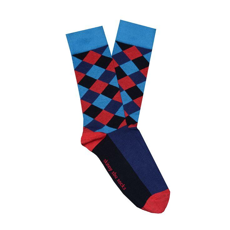Skinny Sbu Socks - The Masha http://www.socktopia.co.za/product/masha/