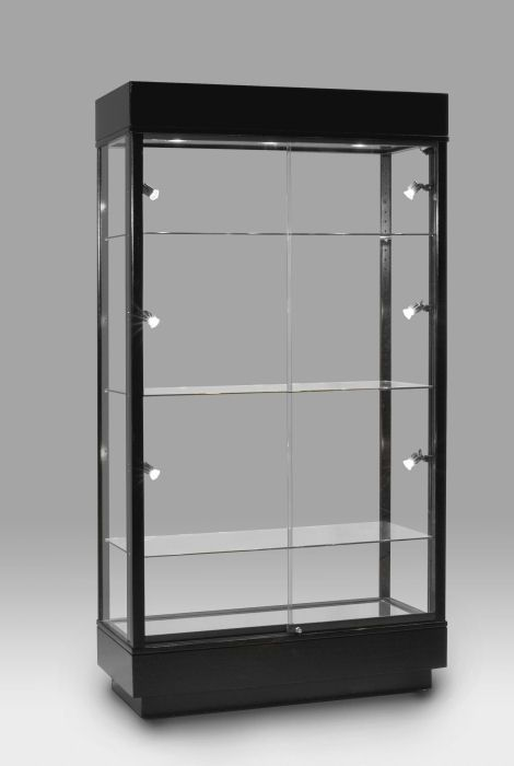 Phoenician Wall Case | Retail Display Case | DisplayCaseCorp.com