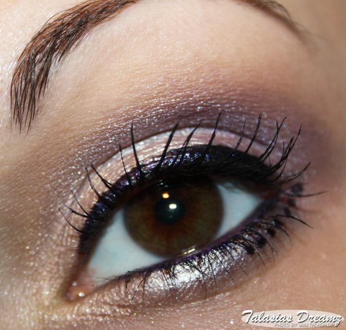 eye make up using: Artdeco Pure Mineral Eyeshadows 898, 818 & 893, more photos: http://www.talasia.de/2013/01/31/amu-swatch-artdeco-pure-mineral-eyeshadows/