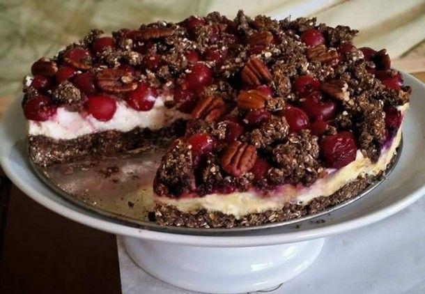 Višňový dortík
