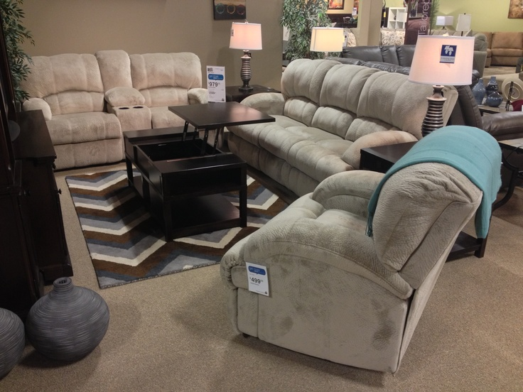 Kiska Pebble 5 Piece Set Includes: Reclining DBI Rec W/Console Lift Top  Cocktail Square End Table At Your Ashley Homestore In Part 46
