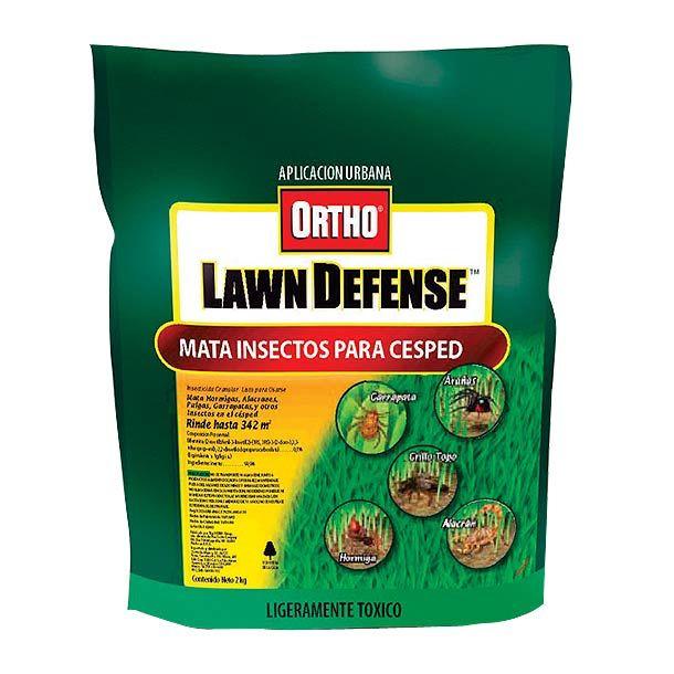 Sin olor. Mata insectos. Arañas. Garrapatas etc. Rápida acción. No daña el césped. Fácil de usar. Control de plagas en césped.