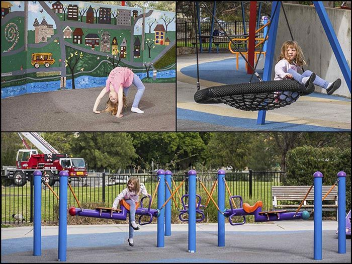Livvis Place Playground At Timbrell Park In Five Dock