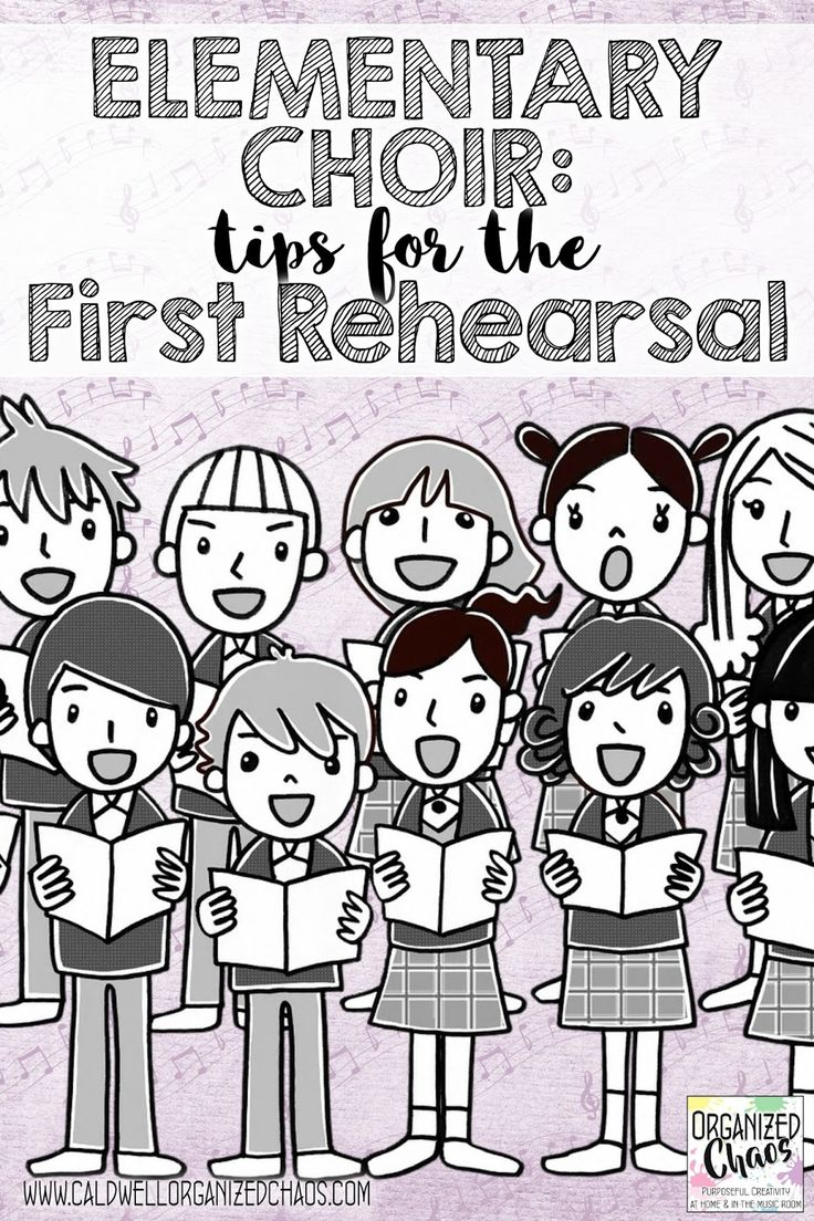 Elementary Choir: tips for the first rehearsal. Organized Chaos. Tips and lesson plans for starting the year or semester off on the right foot with elementary choir.