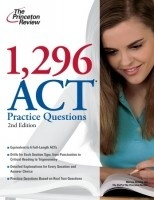 1,296 ACT Practice Questions, 2nd Edition - Detailed item view - FBS Books