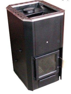 Sauna Heater - Wood Burning Series - Country Living, High-Efficiency Sauna Heater by Saunacore