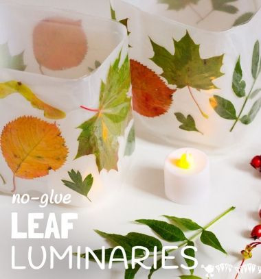 Fall leaf luminaries from plastic bottles // Őszi faleveles lámpások műanyag flakonokból // Mindy - craft tutorial collection // #crafts #DIY #craftTutorial #tutorial #DIYCheapHomeDecor #DIYHomeDecor #KreatívDekorációk