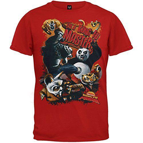 Kung-Fu Panda - Boys I'm A Master Juvy T-shirt Juvy