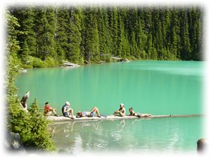 Joffre Lakes, Check! The most amazing Hike I've done so far