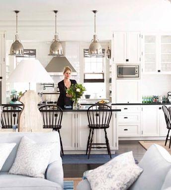 Hamptons Style Kitchen - House & Garden