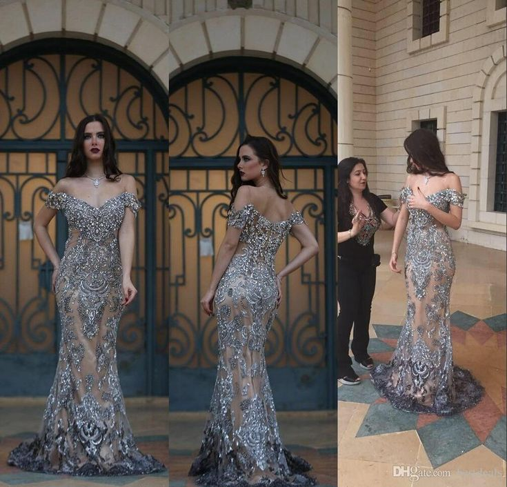 2016 Gorgeous Crystal Rhinestone Mermaid Evening Dresses Off Shoulder Backless Champagne Evening Dresses With Silver Crystal Pageant Dress 2016 Crystal Evening Dresses Mermaid Evening Dresses Prom Dresses 2016 Online with $519.8/Piece on Bestdeals's Store | DHgate.com